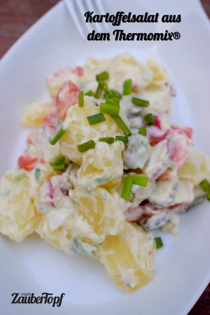 Kartoffelsalat aus dem Thermomix® – Foto: Nicole Stroschein