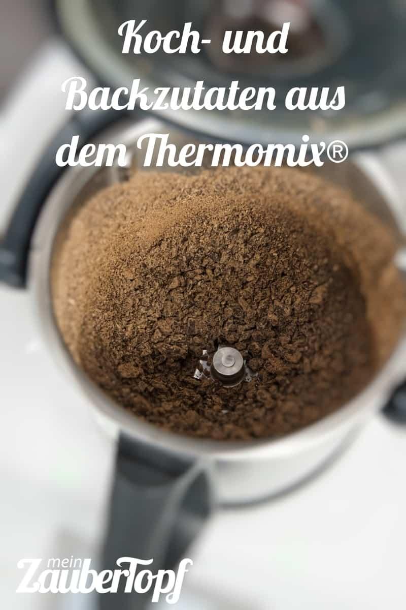 Koch- und Backzutaten aus dem Thermomix® - Foto: Kathrin Knoll