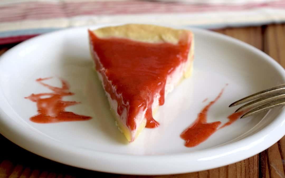 Erdbeertarte mit Crème fraîche aus dem Thermomix®