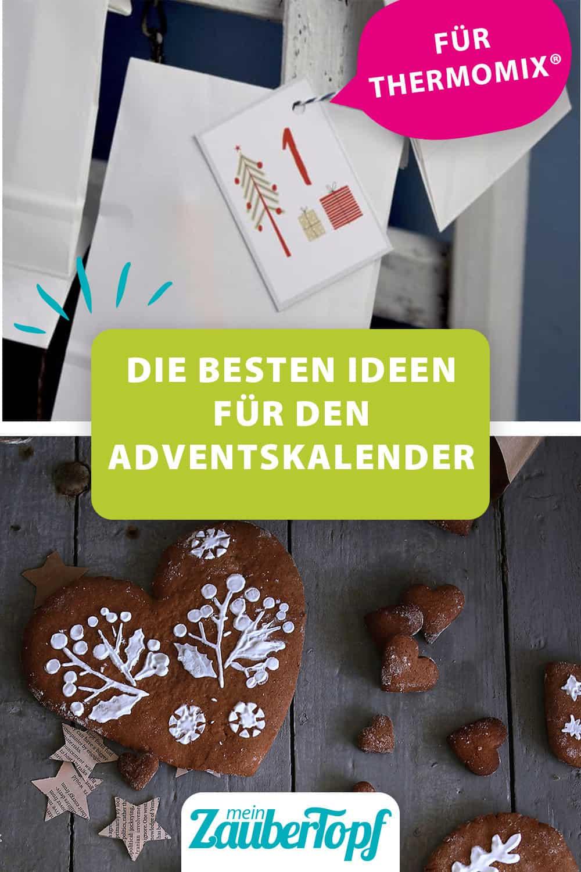 Selbst gebastelter Adventskalender und Köstliche Lebkuchenherzen aus dem Thermomix® – Foto: Tina Bumann und Nicole Stroschein