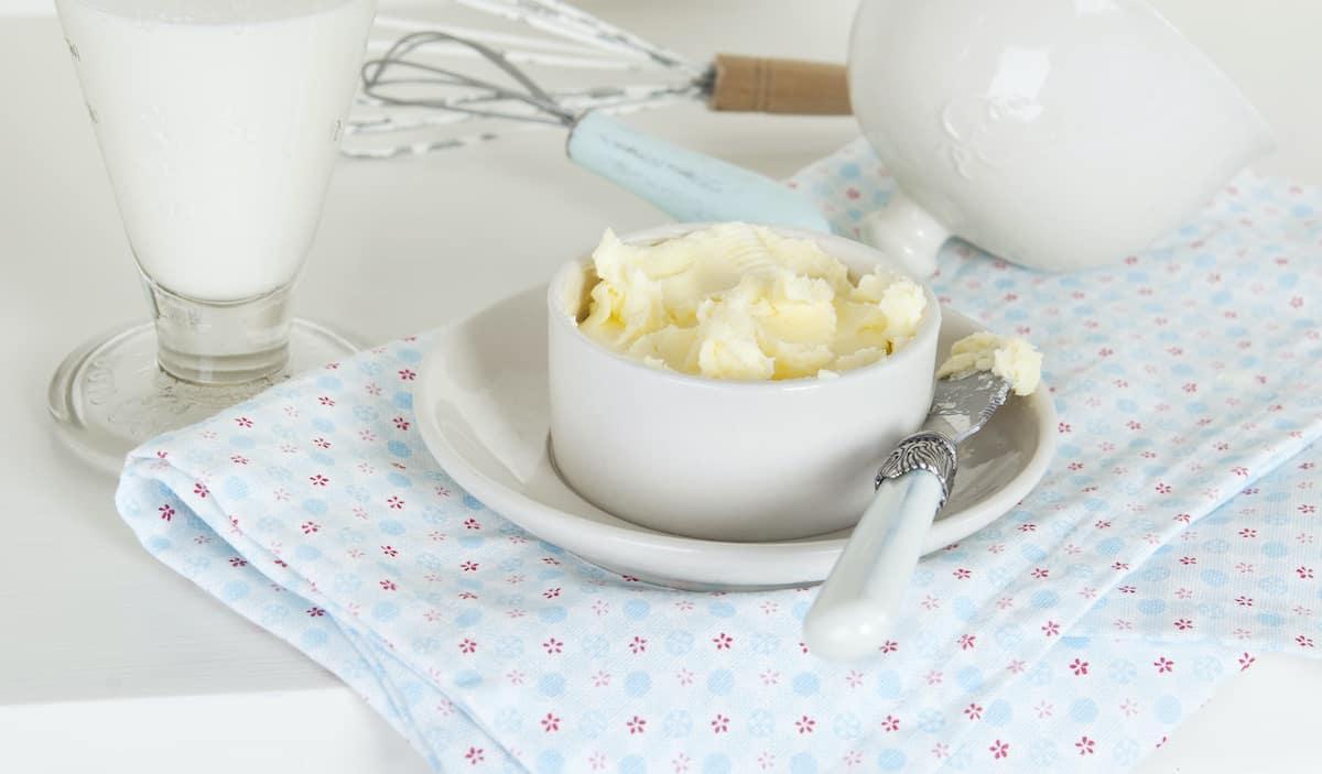 Selbstgemachte Butter mit dem Thermomix® – Foto: Frauke Antholz