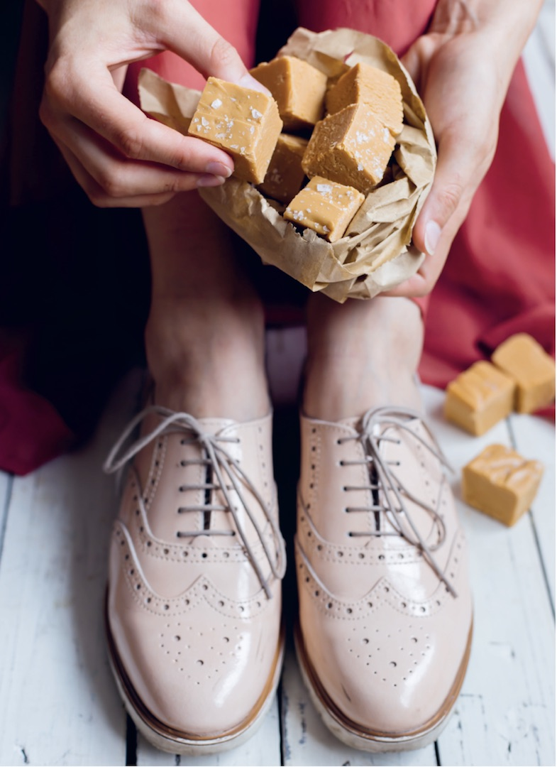 Karamell-Fudge mit Meersalz aus dem Thermomix® – Foto: Sophia Handschuh