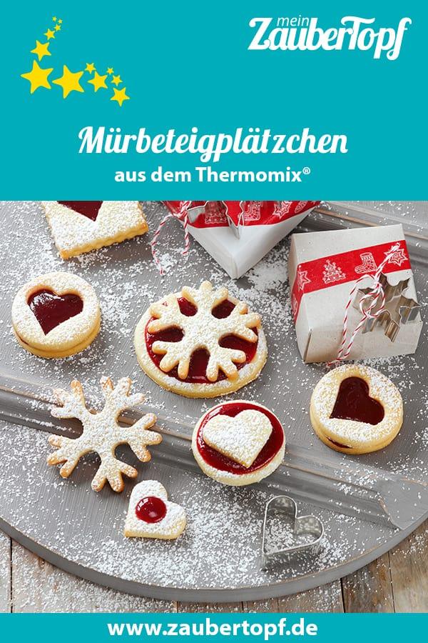 Mürbeteigplätzchen aus dem Thermomix® - Foto: Frauke Antholz