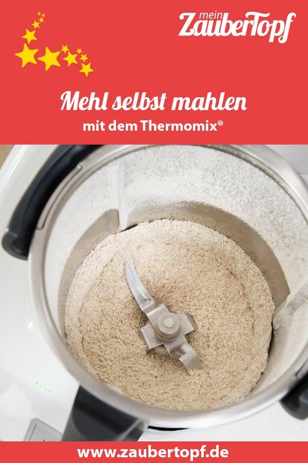 Mehl mahlen mit dem Thermomix® – Foto: Kathrin Knoll