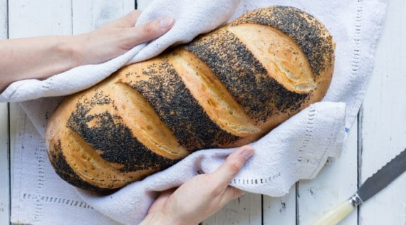 Mohnbrot aus dem Thermomix® – Foto: Sophia Handschuh