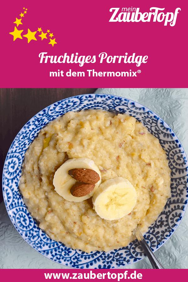 Porridge aus dem Thermomix® – Foto: Nicole Stroschein