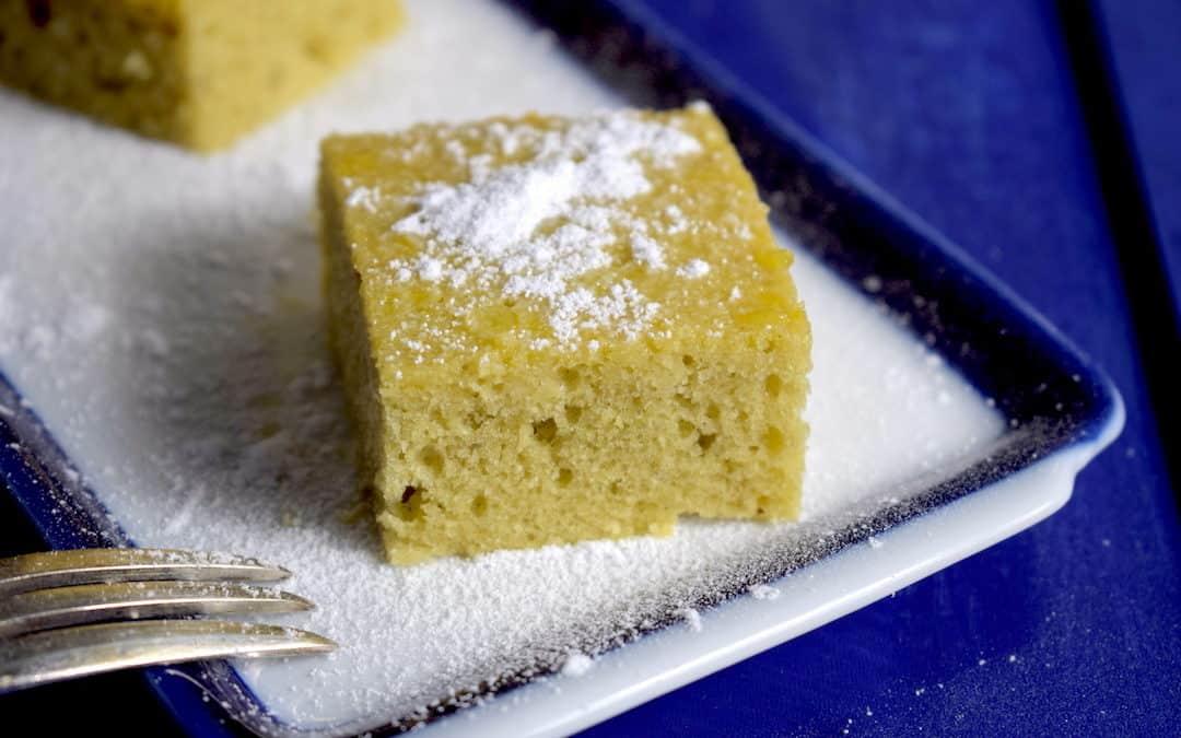 Wie in Griechenland: Saftiger Grießkuchen Ravani