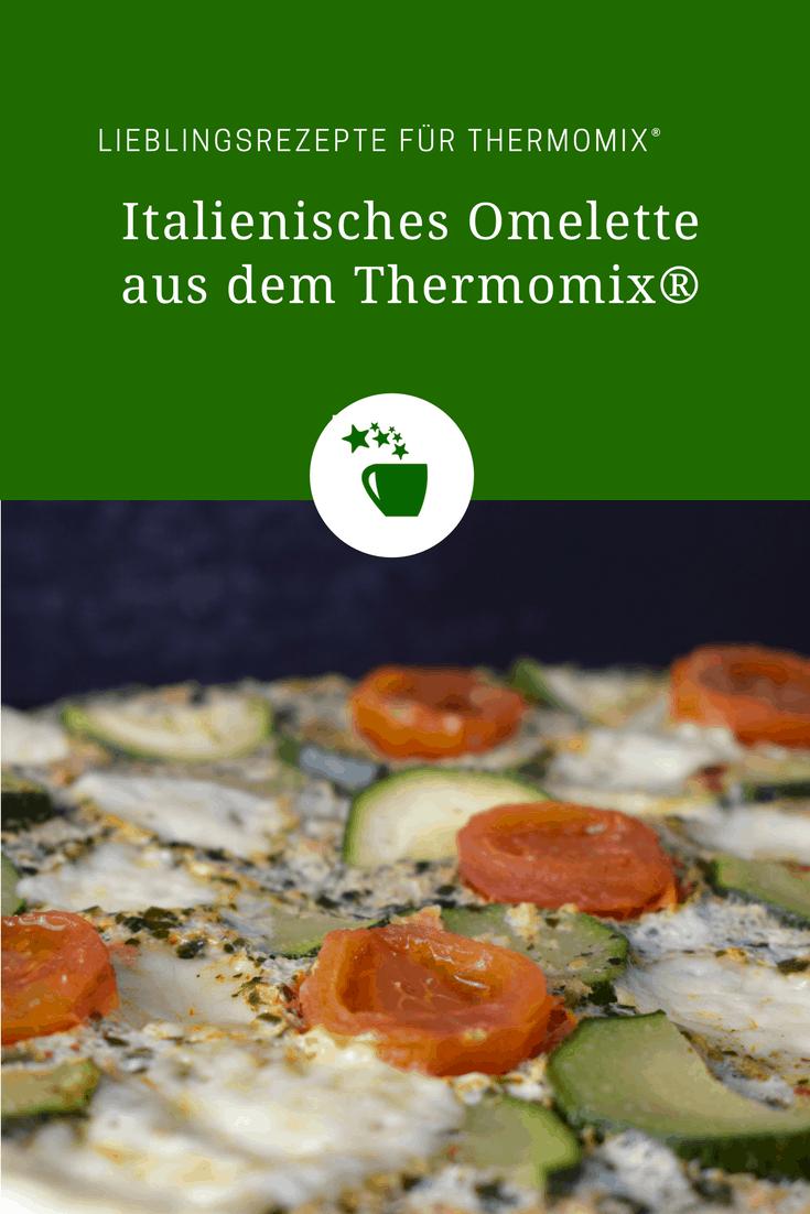 Italienisches Omelette aus dem Varoma – Foto: Nicole Stroschein