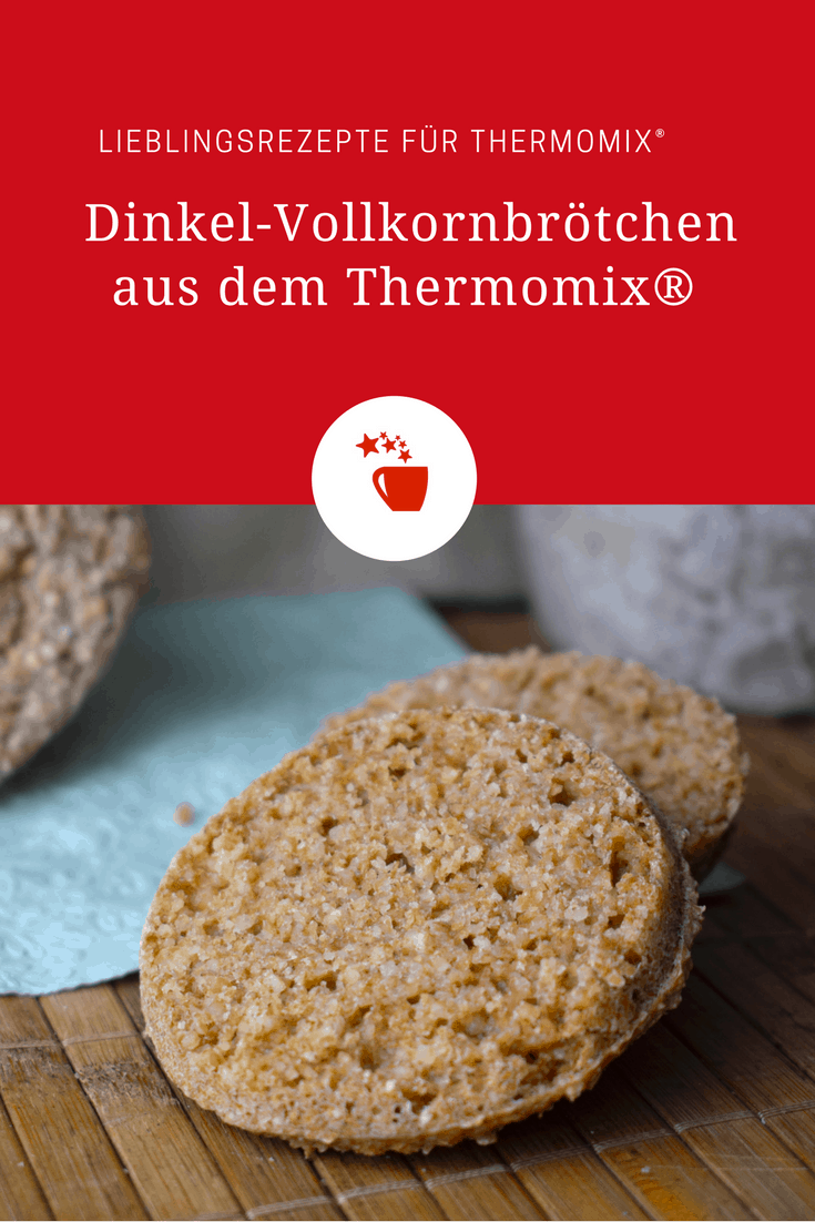 Dinkel-Vollkornbrötchen aus dem Thermomix® – Foto: Nicole Stroschein