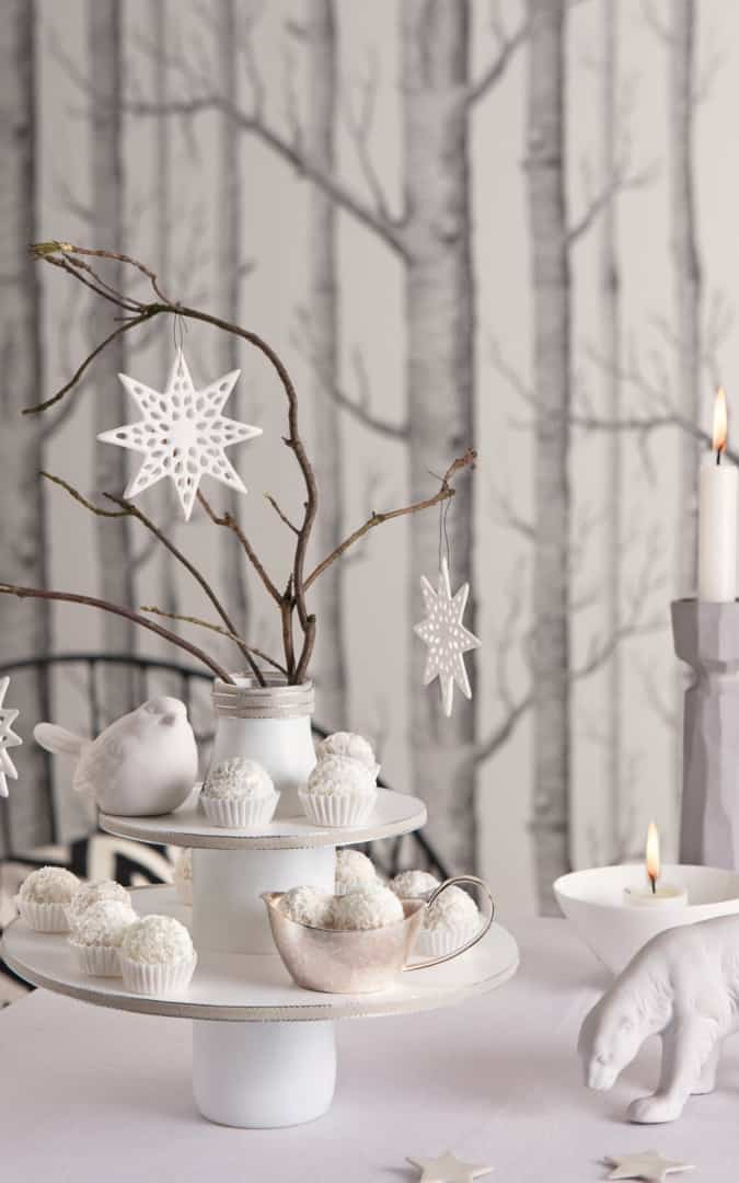 """Let it snow""-Etagere - Foto: Rasch PR-Manufaktur GmbH"