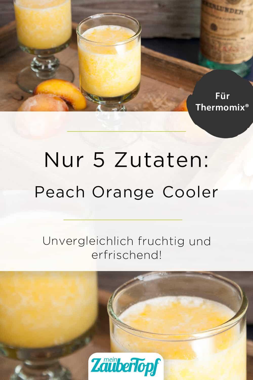 Peach Orange Cooler aus dem Thermomix® – Foto: Kathrin Knoll