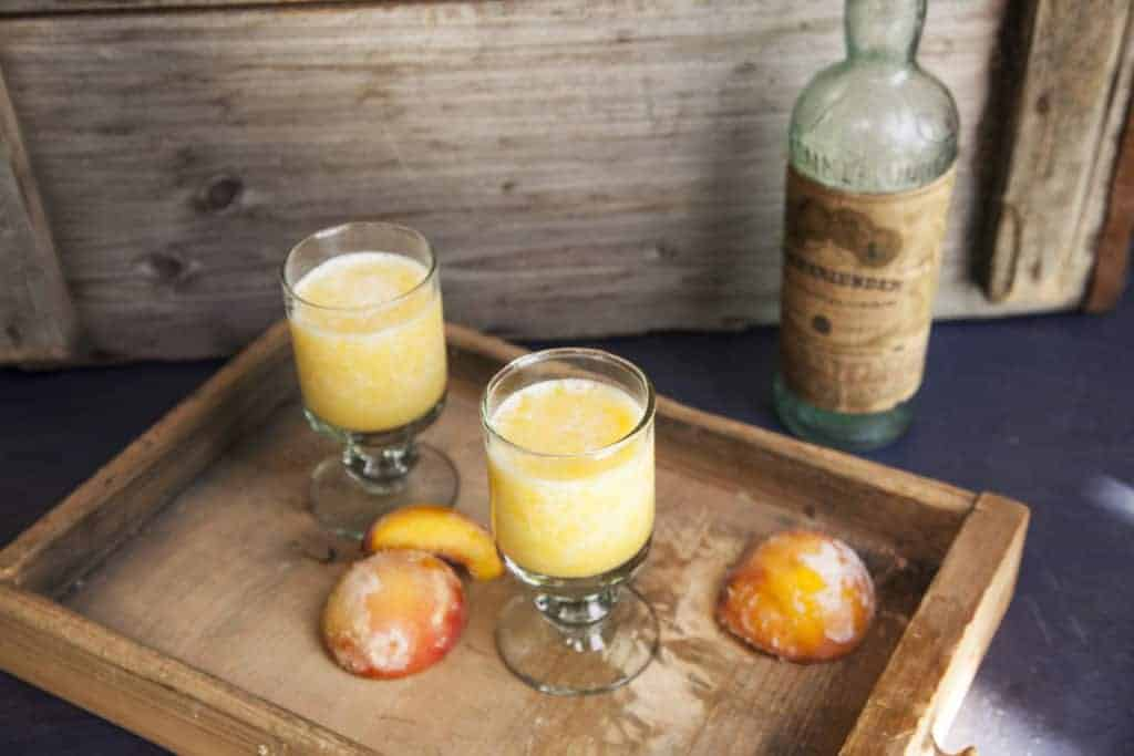 Peach Orange Cooler aus dem Thermomix® – Foto: Kathrin Knoll