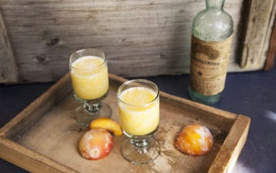 Cocktailzeit: Peach Orange Cooler
