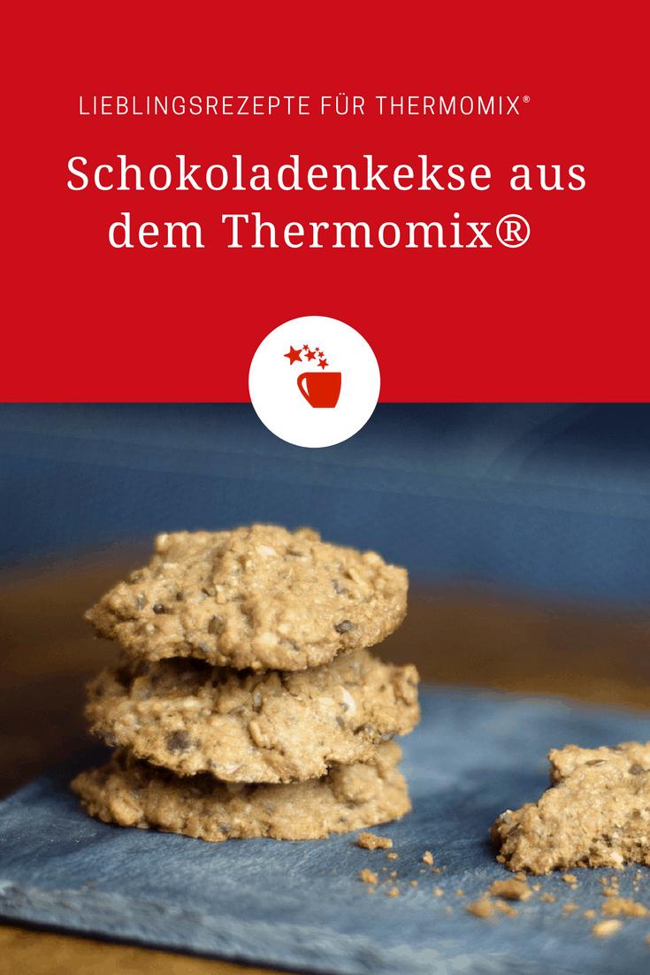 Schokoladenkekse mit Haferflocken aus dem Thermomix® – Foto: Nicole Stroschein