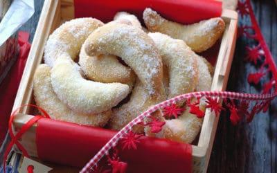 Klassiker aus der Weihnachtsbäckerei: Vanillekipferl
