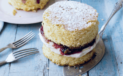 Victoria-Sponge-Cake – Die Mini-Version