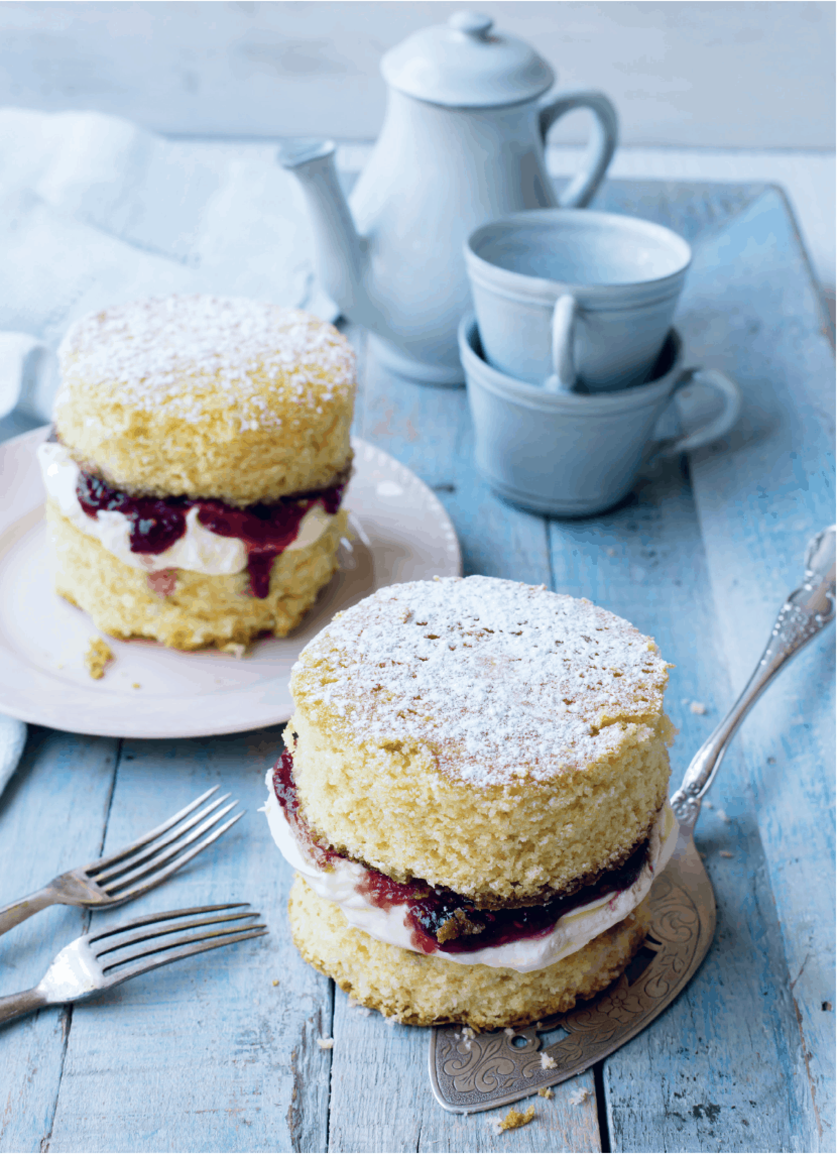 Victoria-Sponge-Cake aus dem Thermomix® – Foto: Sophia Handschuh