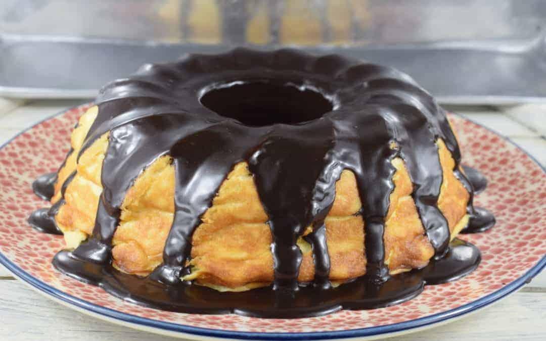 Cheesecake mit Schokokern