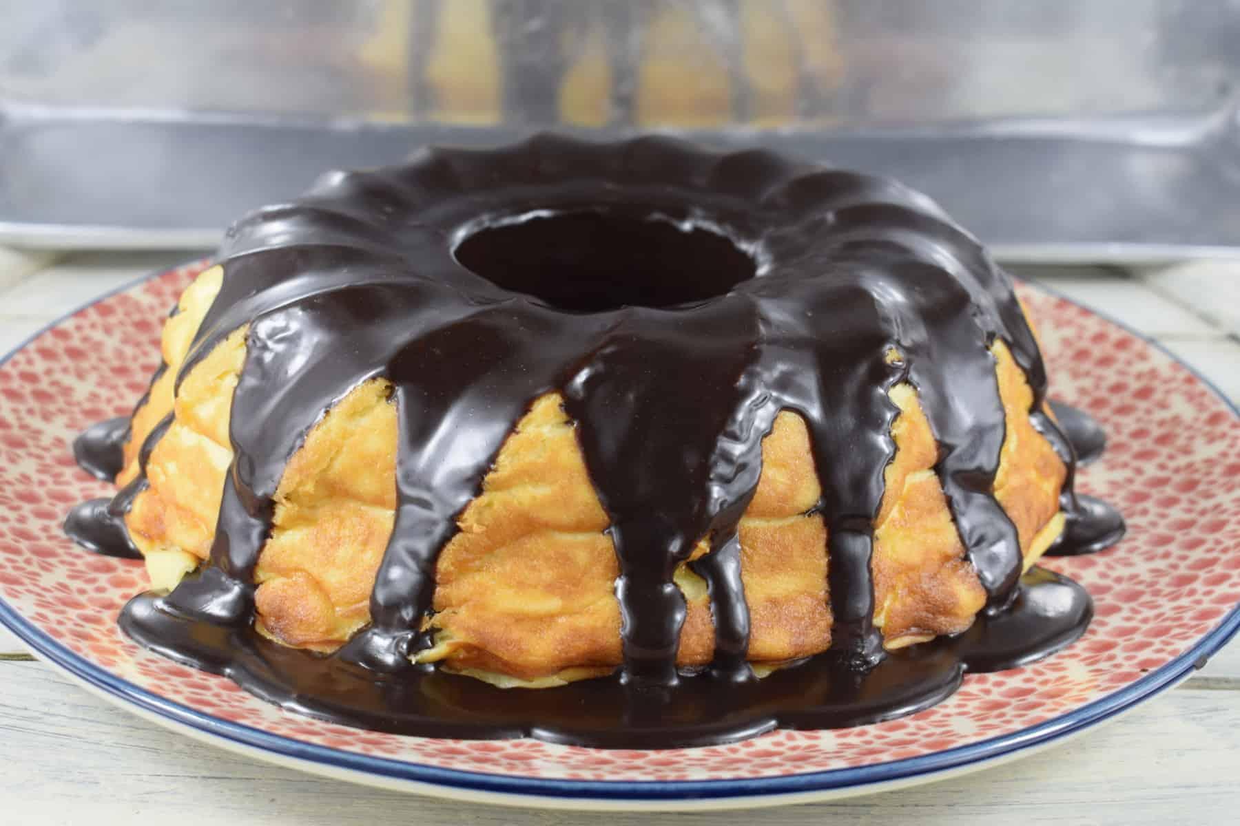 Cheesecake mit Schokofüllung aus dem Thermomix® - Foto: Nicole Stroschein