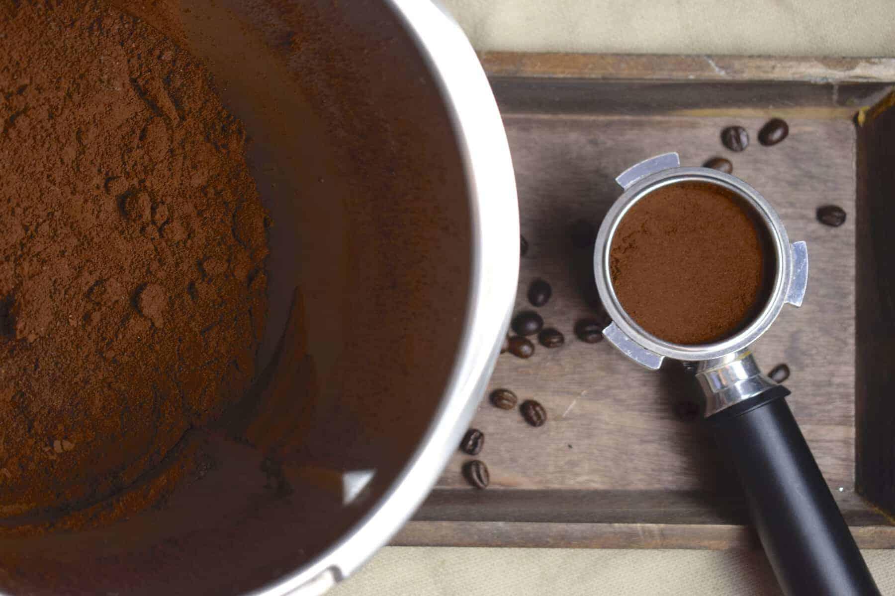 Kaffee mahlen im Thermomix® - Foto: Nicole Stroschein
