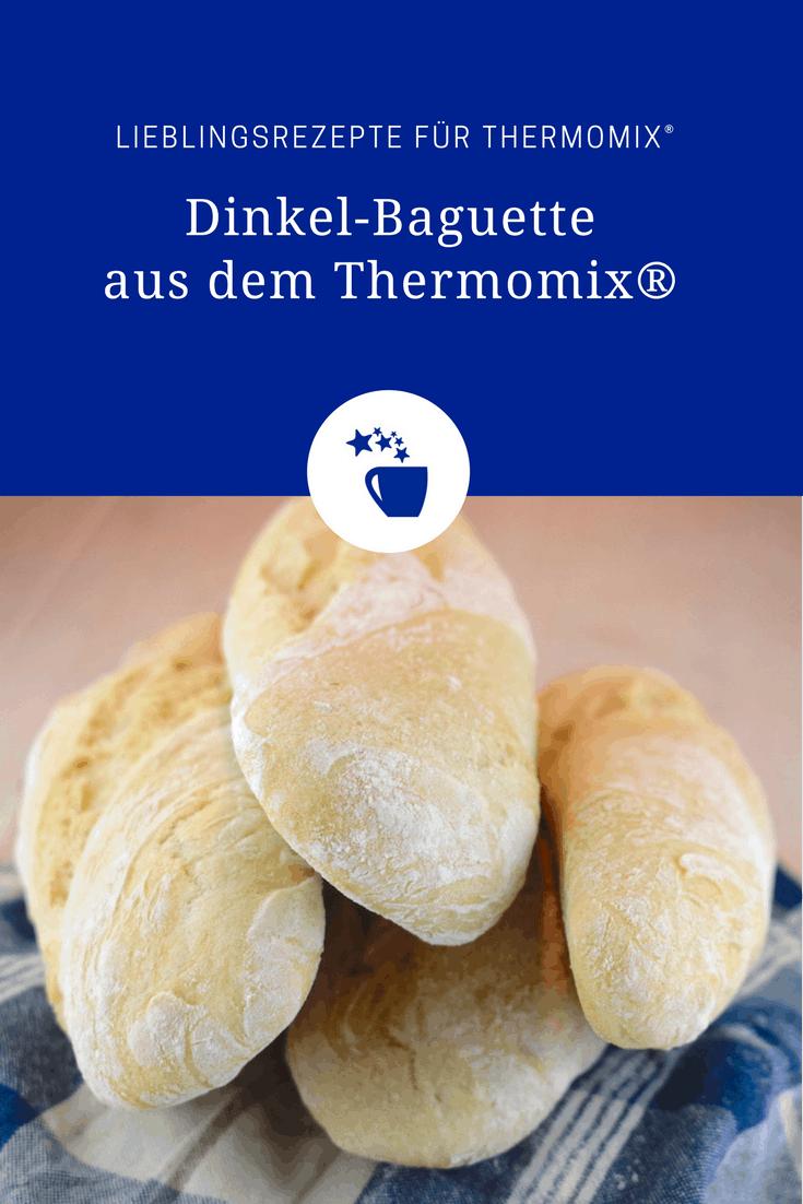 Dinkel-Baguette aus dem Thermomix® – Foto: Nicole Stroschein