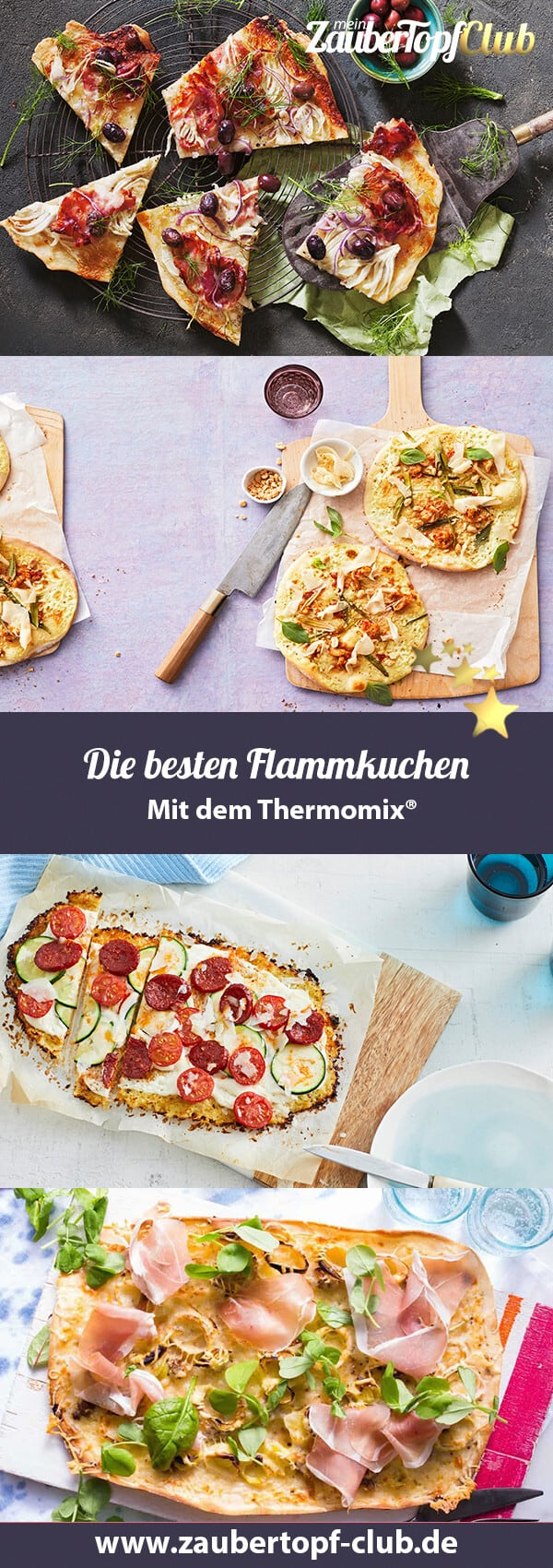Flammkuchen mit dem Thermomix® – Fotos: Jorma Gottwald, Frauke Antholz, Ira Leoni