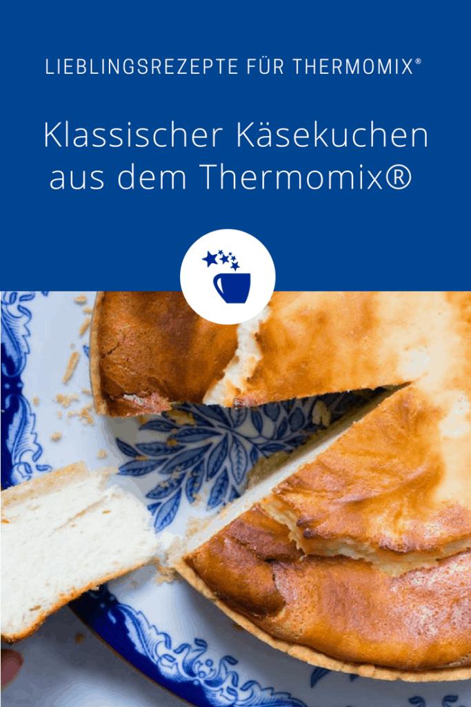 Klassischer Käsekuchen aus dem Thermomix® – Foto: Sophia Handschuh