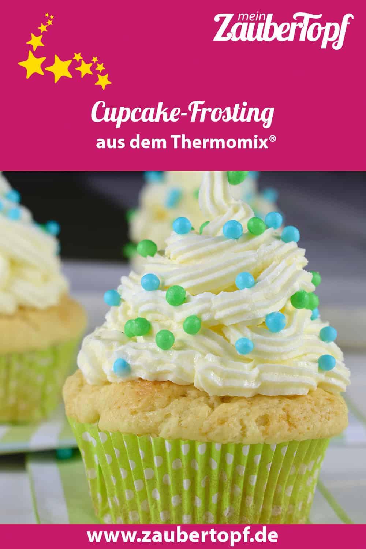 Cupcake-Frosting aus dem Thermomix® – Foto: Nicole Stroschein