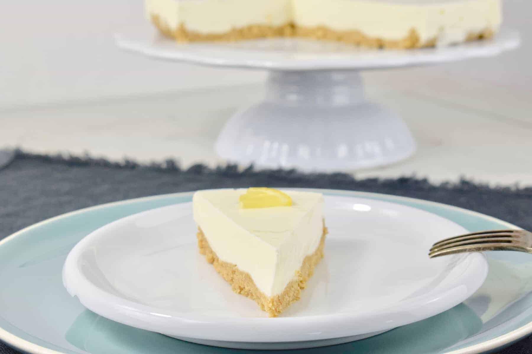 Frischkäse-Torte aus dem Thermomix® ohne Backen – Foto: Nicole Stroschein