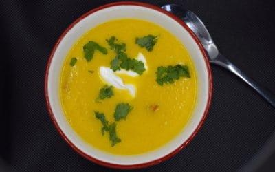 Karottensuppe mit Paprika