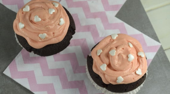 Schokocupcakes aus dem Thermomix® –Foto: Nicole Stroschein