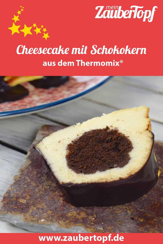 Cheesecake mit Schokokern aus dem Thermomix® – Foto: Nicole Stroschein