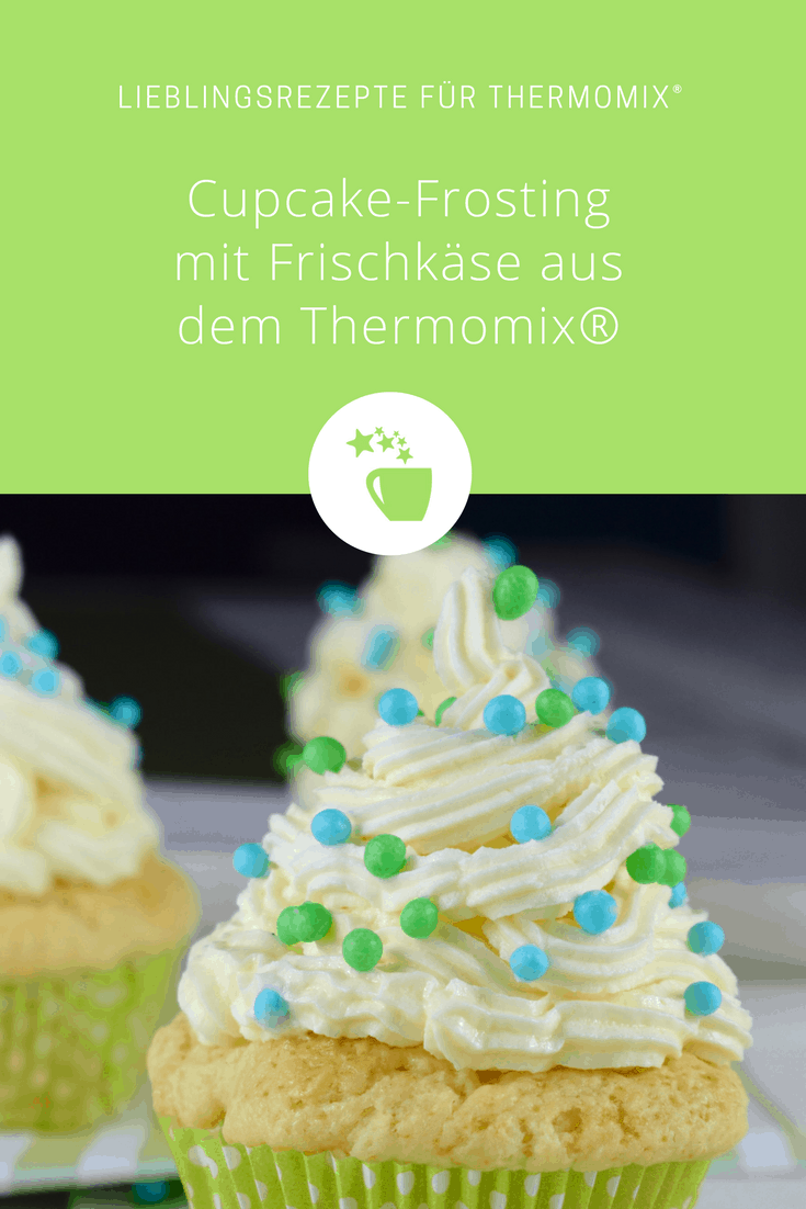 cupcake frosting mit frischk se rezept f r den thermomix. Black Bedroom Furniture Sets. Home Design Ideas