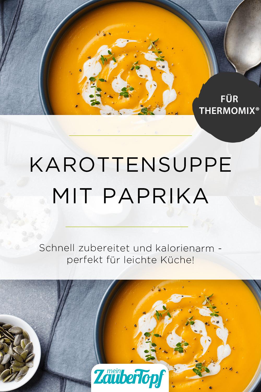 Karottensuppe mit Paprika –Foto: gettyimages / AnnaPustynnikova