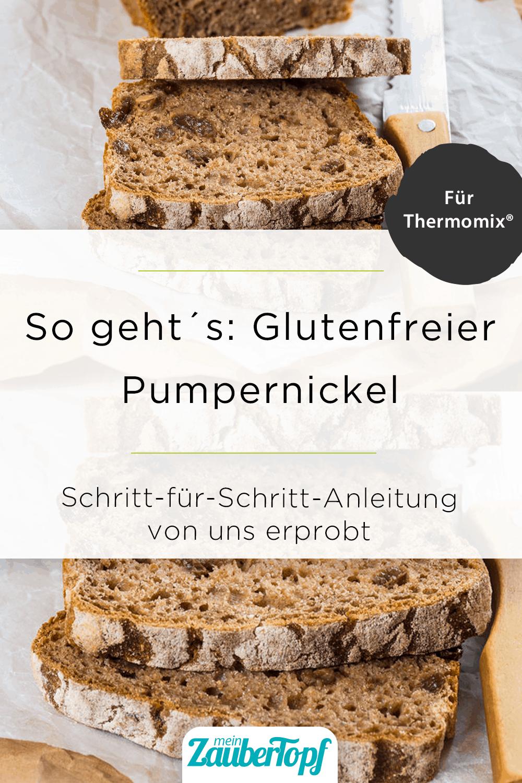 Glutenfreier Pumpernickel aus dem Thermomix® –Foto: Sophia Handschuh