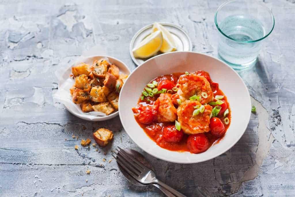 Garnelen in Tomatensud aus dem Thermomix® – Foto: Ira Leoni