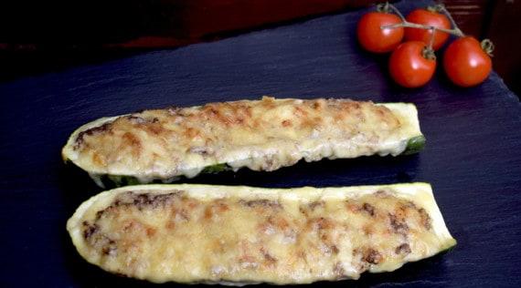 Gefüllte Zucchini mit Walnüssen aus dem Thermomix® – Foto: Nicole Stroschein