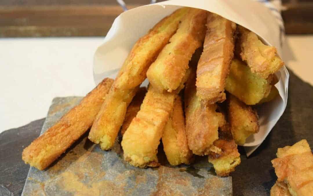 So Lecker Knusprige Kichererbsen Pommes Rezept Für Den Thermomix