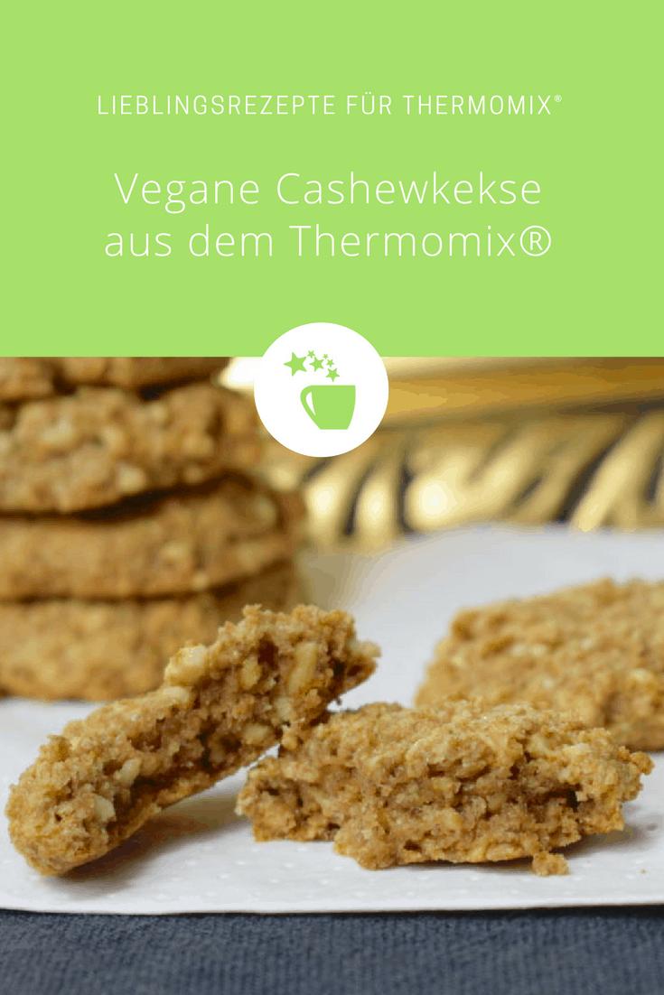 Vegane Cashewkekse aus dem Thermomix® – Foto: Nicole Stroschein