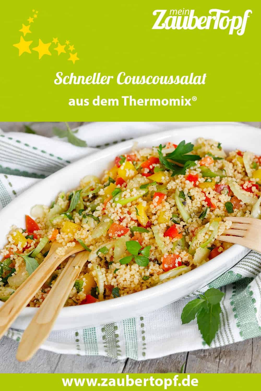 Schneller Couscoussalat aus dem Thermomix® – Foto: Frauke Antholz