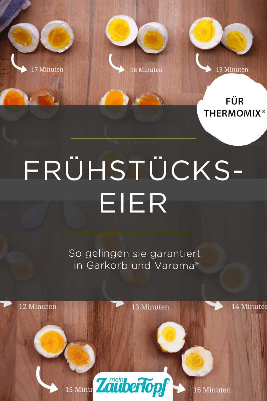 Perfekte Frühstückseier aus dem Thermomix® - Foto: Archiv