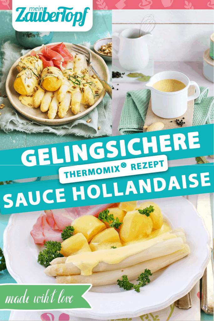 Sauce Hollandaise mit Spargel aus dem Thermomix® - Foto: Frauke Antholz