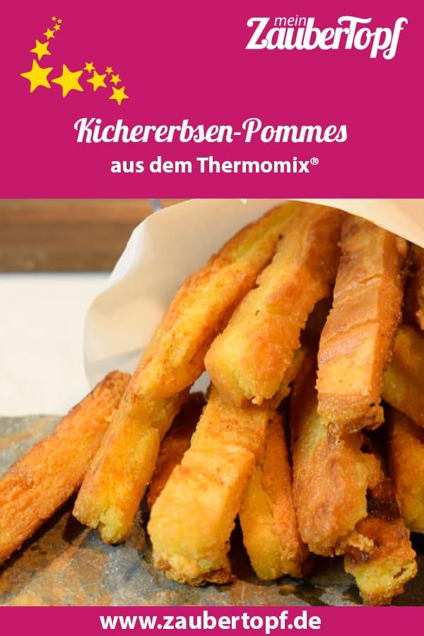 Kichererbsen-Pommes aus dem Thermomix® – Foto: Nicole Stroschein