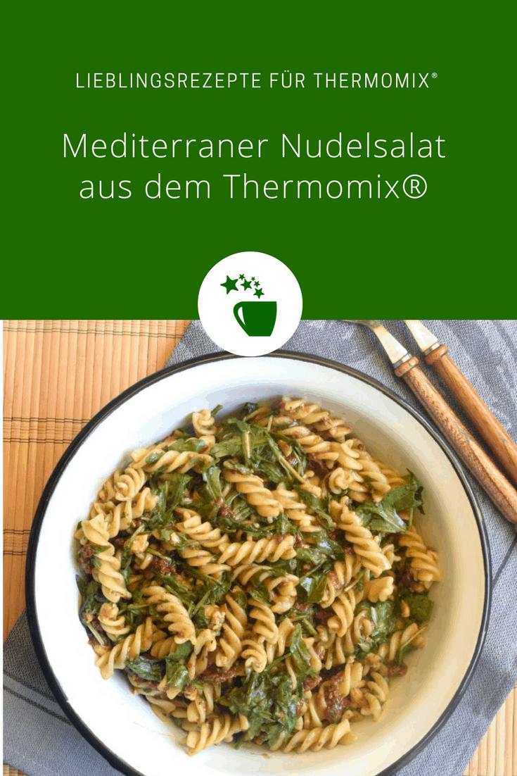 Mediterraner Nudelsalat aus dem Thermomix® –Foto: Nicole Stroschein