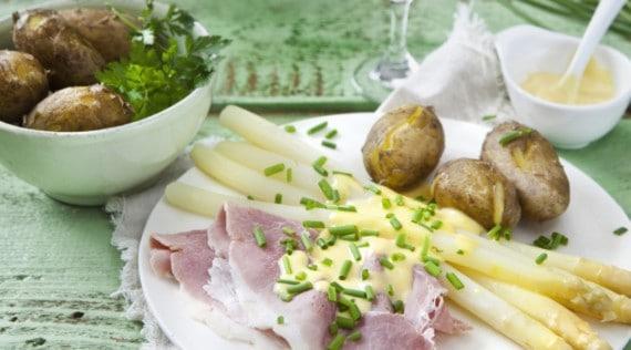 Spargel mit Kochschinken aus dem Thermomix® - Foto: Frauke Antholz