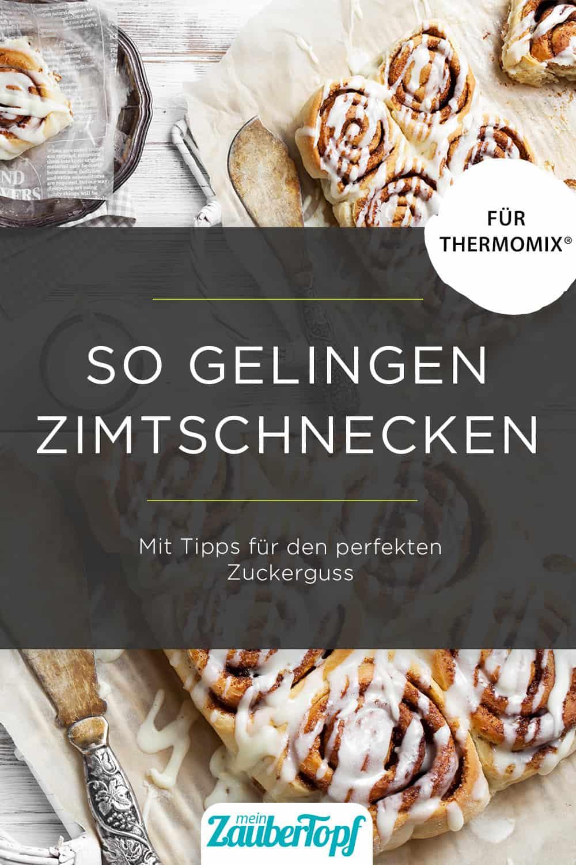 Schwedische Zimtschnecken –Kanelbullar aus dem Thermomix® –Foto: gettyimages/molka