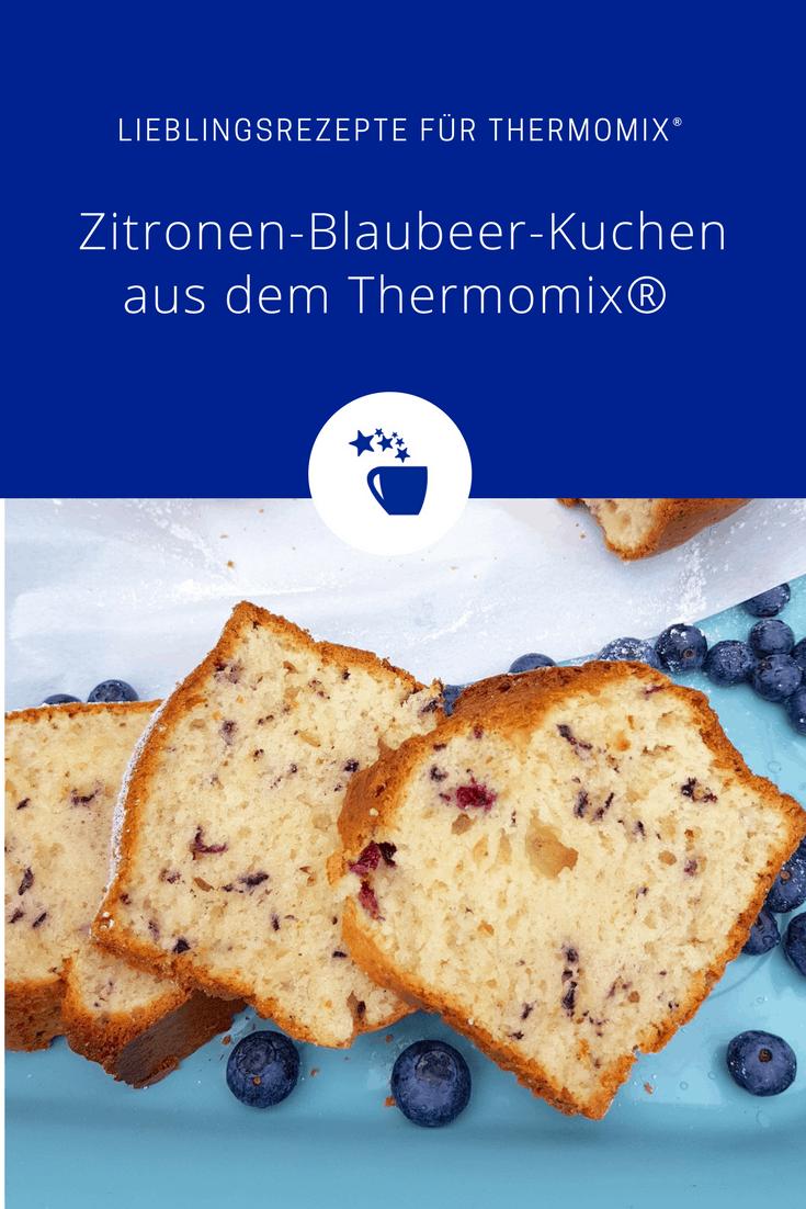Zitronen-Blaubeer-Kuchen aus dem Thermomix® –Foto: Nicole Stroschein