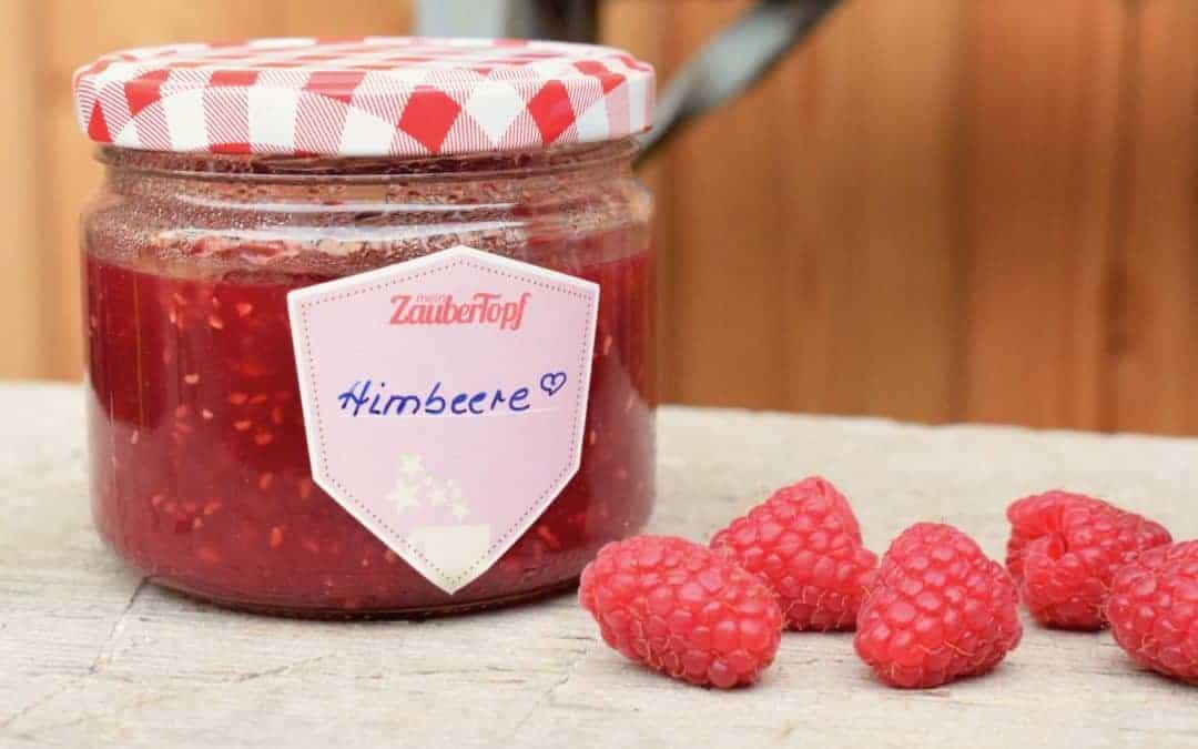 Basis-Rezept für Himbeermarmelade