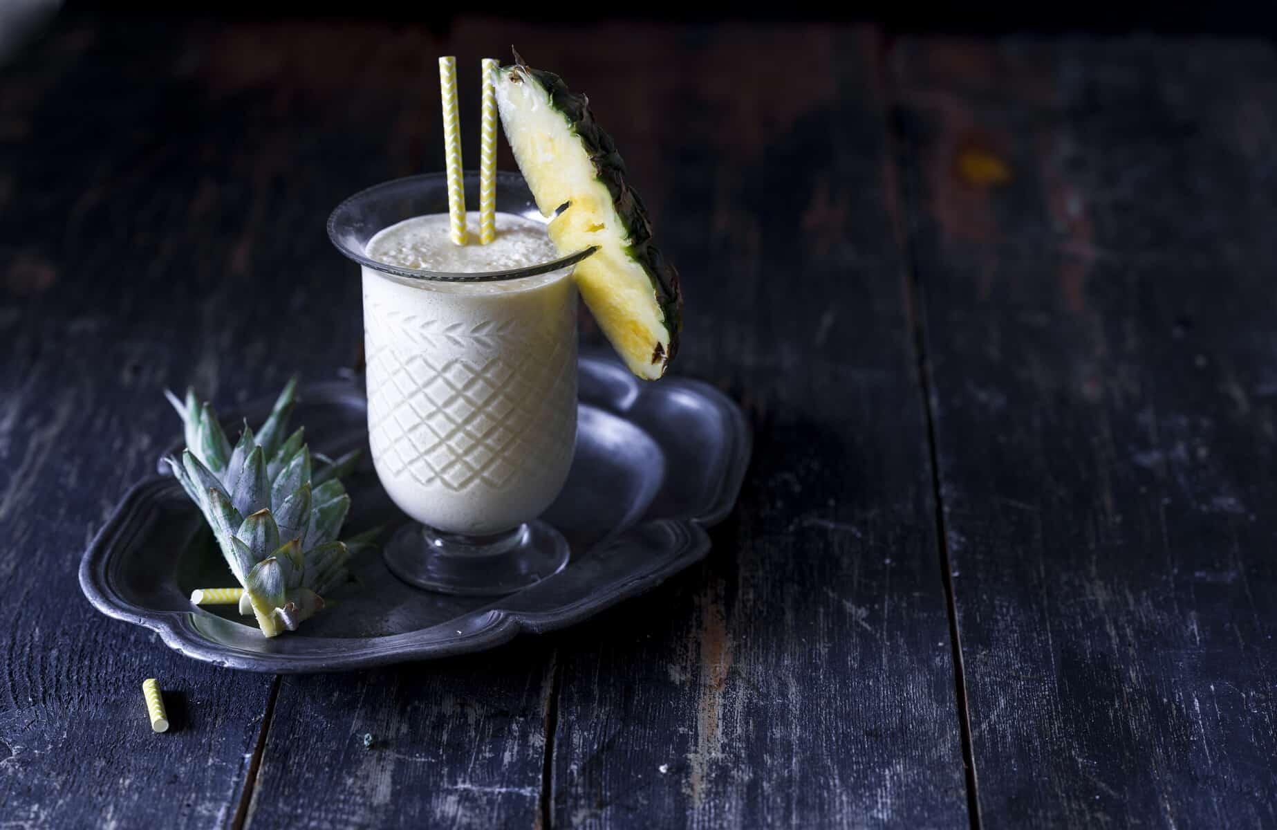 Tina Colada mit frischer Ananas aus dem Thermomix® – Foto: Tina Bumann