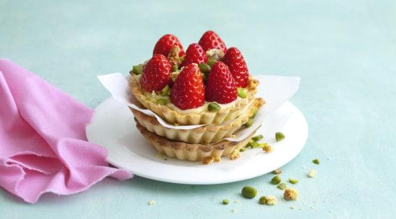 Vanilletartelettes mit Erdbeeren aus dem Thermomix® – Foto: Ira Leoni